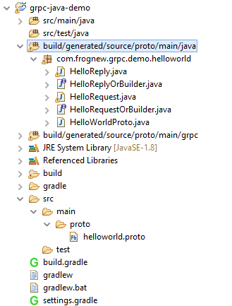 grpc-java-eclipse-project